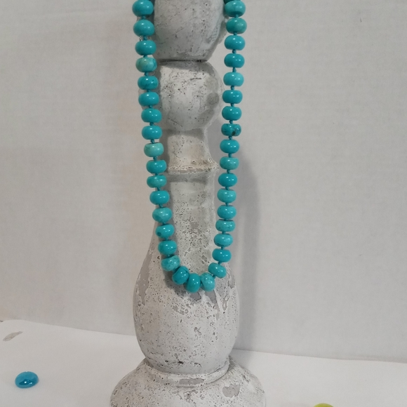 Vintage Chunky Anthropologie Turquoise Necklace